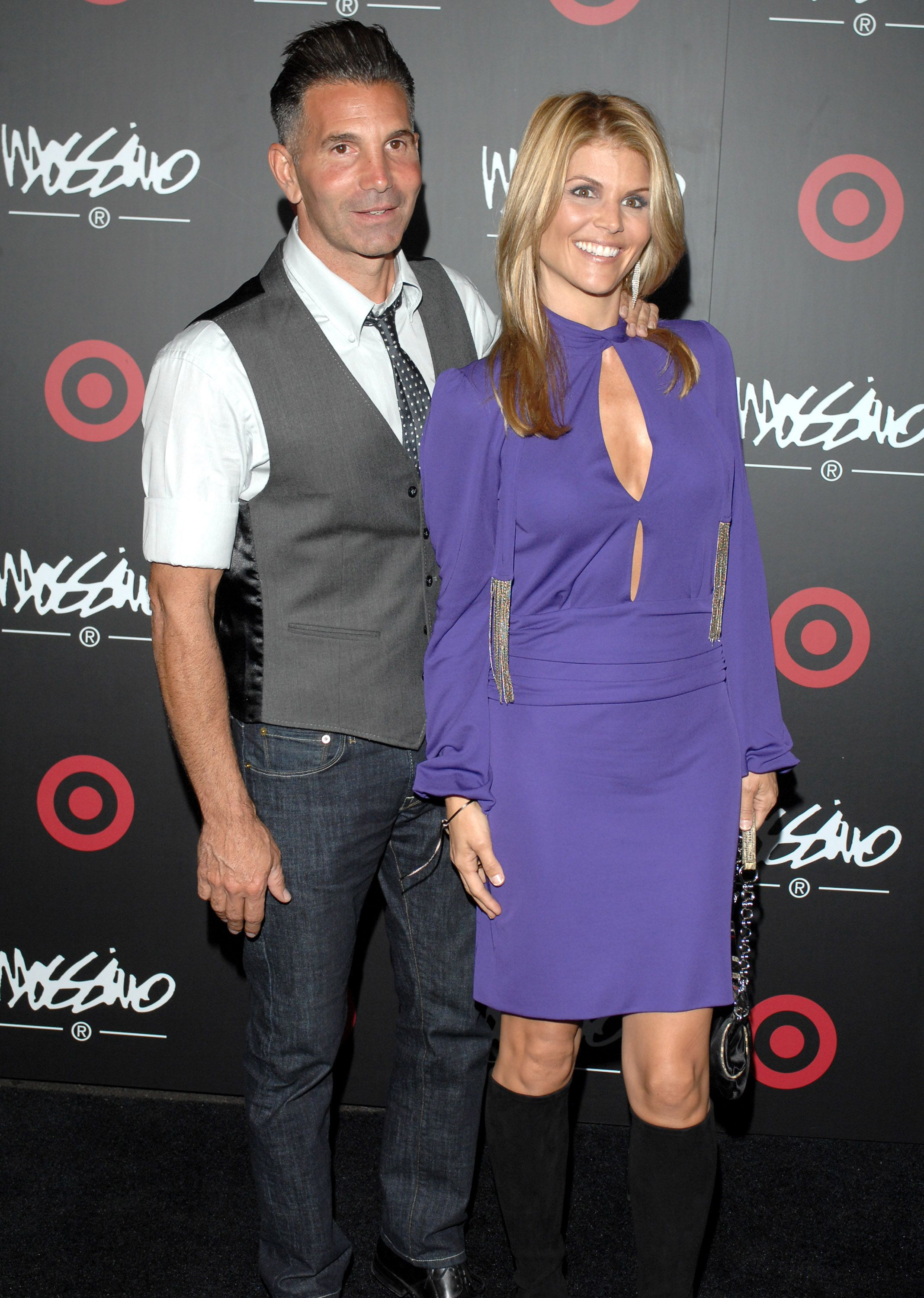 Mossimo Giannulli and Lori Loughlin at the Target Hosts LA Fashion Week Party for Giannulli on October 19, 2006 Photo L. Cohen/WireImage/Getty Images