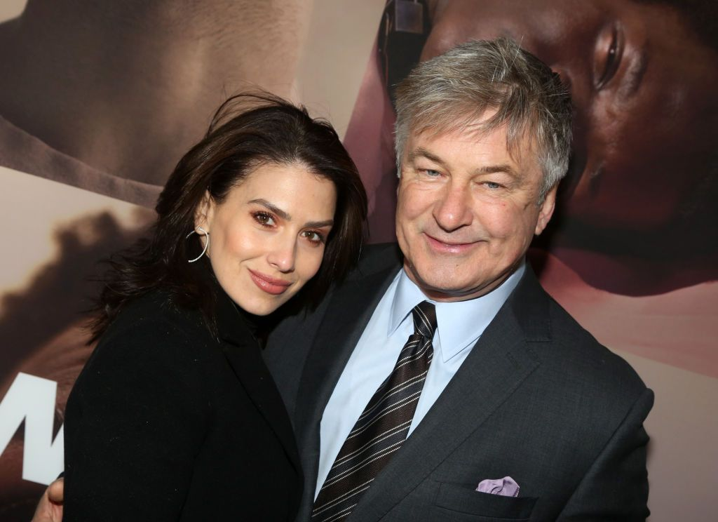 """Hilaria and Alec Baldwin at the opening night of the revival of Ivo van Hove's """"West Side Story"""" on Broadway on February 20, 2020, in New York City   Photo: Bruce Glikas/WireImage/Getty Images"""