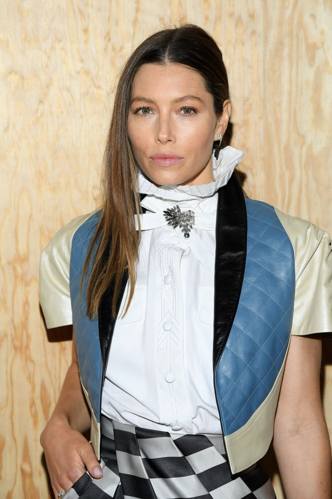 Jessica Biel attends the Louis Vuitton Womenswear Spring/Summer 2020 show as part of Paris Fashion Week  | Getty Images
