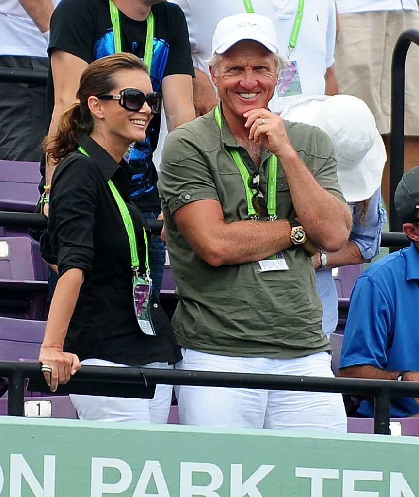 Kirsten Kutner and Greg Norman attends Sony Ericsson Open at Crandon Park Tennis Center on March 28, 2011 | Photo: Getty Images
