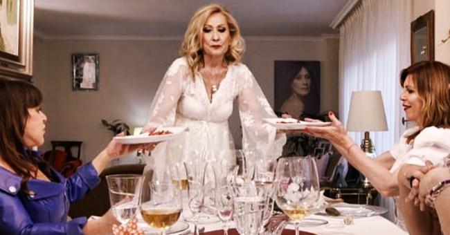 Rosa Benito se estrena como anfitriona de 'Ven a cenar conmigo' y muestra su casa en Madrid