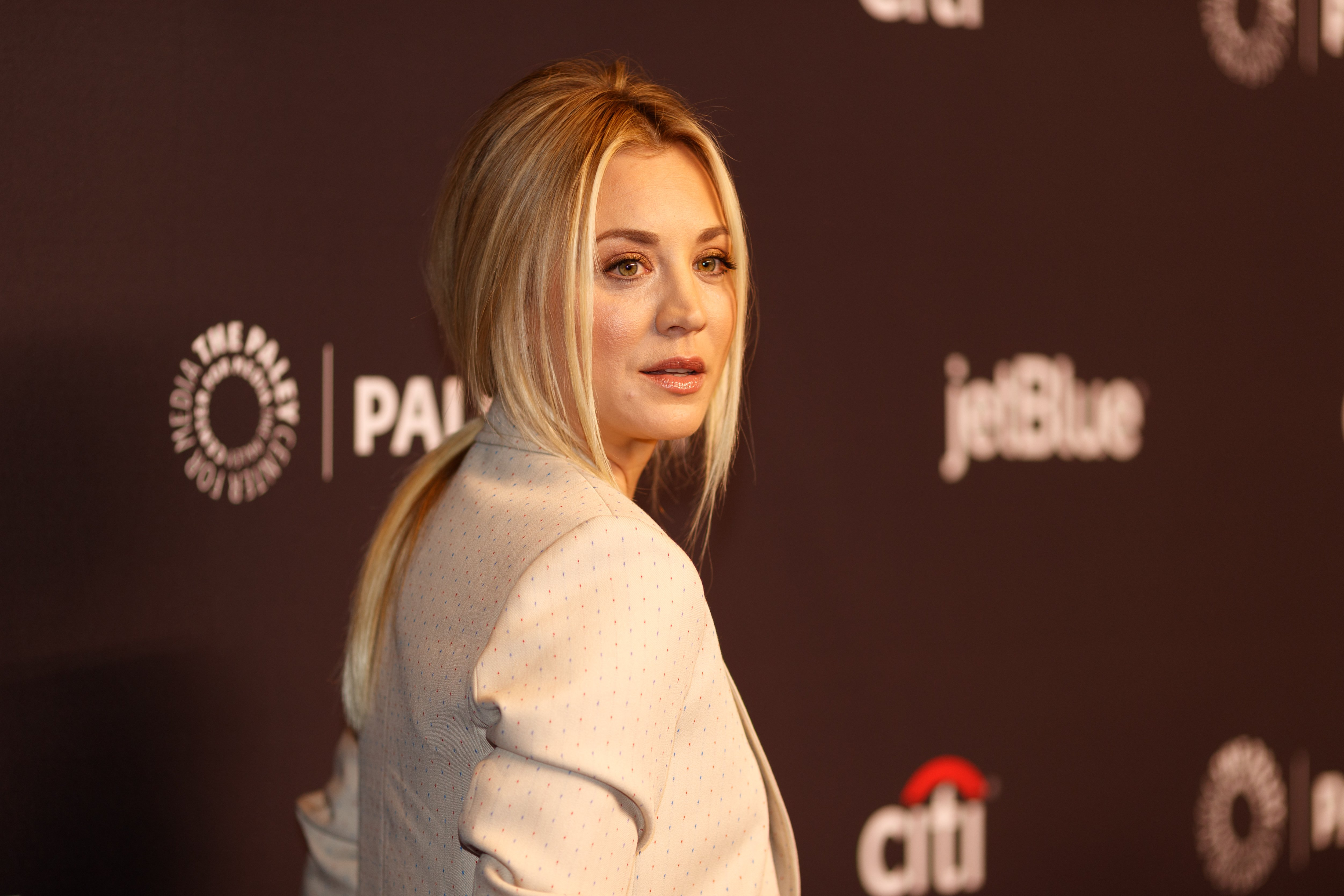 Kaley Cuoco attends the 2018 PaleyFest Los Angeles on March 21, 2018 in Hollywood, California   Photo: Getty Images