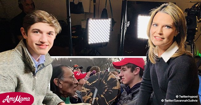 'Today' show host slammed for 'sham' interview with 'MAGA hat' teen from viral video