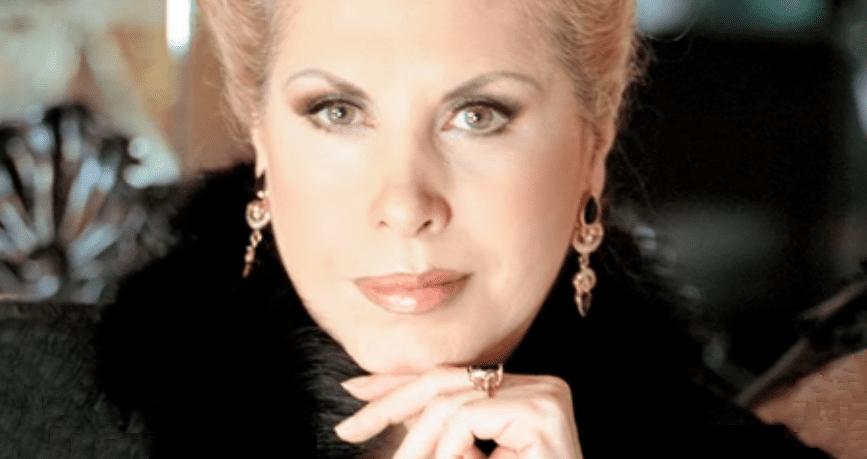 Claudia Islas, gran actriz y vedette de la época de oro del cine mexicano. | Imagen: YouTube/Revista TVNotas
