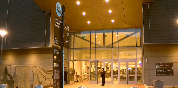 San Ysidro Transit Center in California   Photo: NBC 7