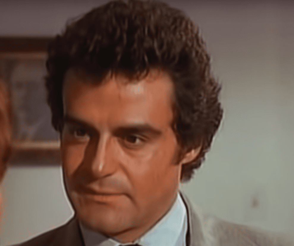 Gonzalo Vega en la telenovela 'Los Renglones Torcidos de Dios', 1983.   Imagen: YouTube/Historias Engarzadas
