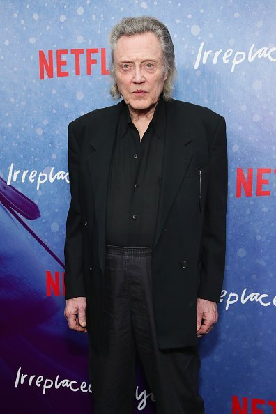 "Christopher Walken attends the Special Screening of the Netflix Film ""Irreplaceable You"" at The Metrograph on February 8, 2018, in New York City. 