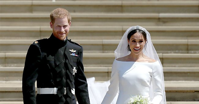 Prince Harry & Meghan Markle Flooded with Greetings on 3rd Wedding Anniversary, but the Royal Family Remains Mum