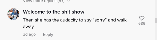 A user's comment on the viral post | Photo: tiktok.com/shawnleighman