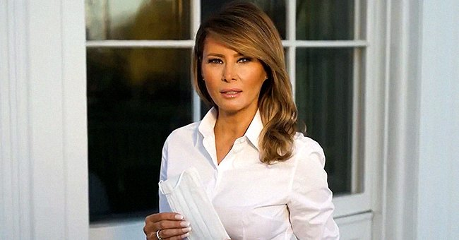 Melania Trump Urges People to Wear Face Masks & Maintain Social Distance Amid COVID-19 Outbreak