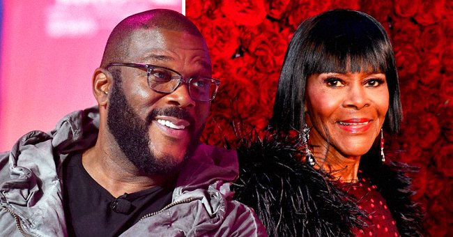 Tyler Perry Praises Cicely Tyson as He Shares Photos from Premiere of New Netflix Thriller 'A Fall from Grace'