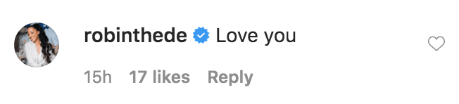 Robin Thede commented on a selfie of Vanessa Williams without any make-up on | Source: Instagram.com/vanessawilliamsofficial