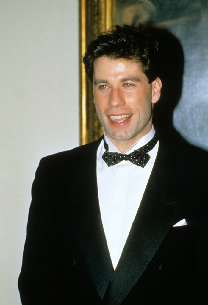 John Travolta, Gala Dinner, Weißes Haus, 1985 | Quelle: Getty Images