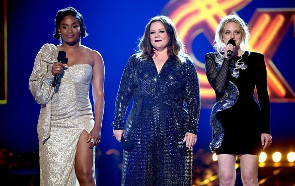 Tiffany Haddish, Melissa McCarthy, and Elisabeth Moss at the 2019 MTV Movie and TV Awards on June 15, 2019 in Santa Monica, California | Photo: Getty Images