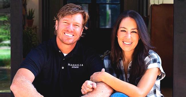 'Fixer Upper' Alum Joanna Gaines Shares Photo Carrying Son Crew, Talks Magnolia's Fall Install