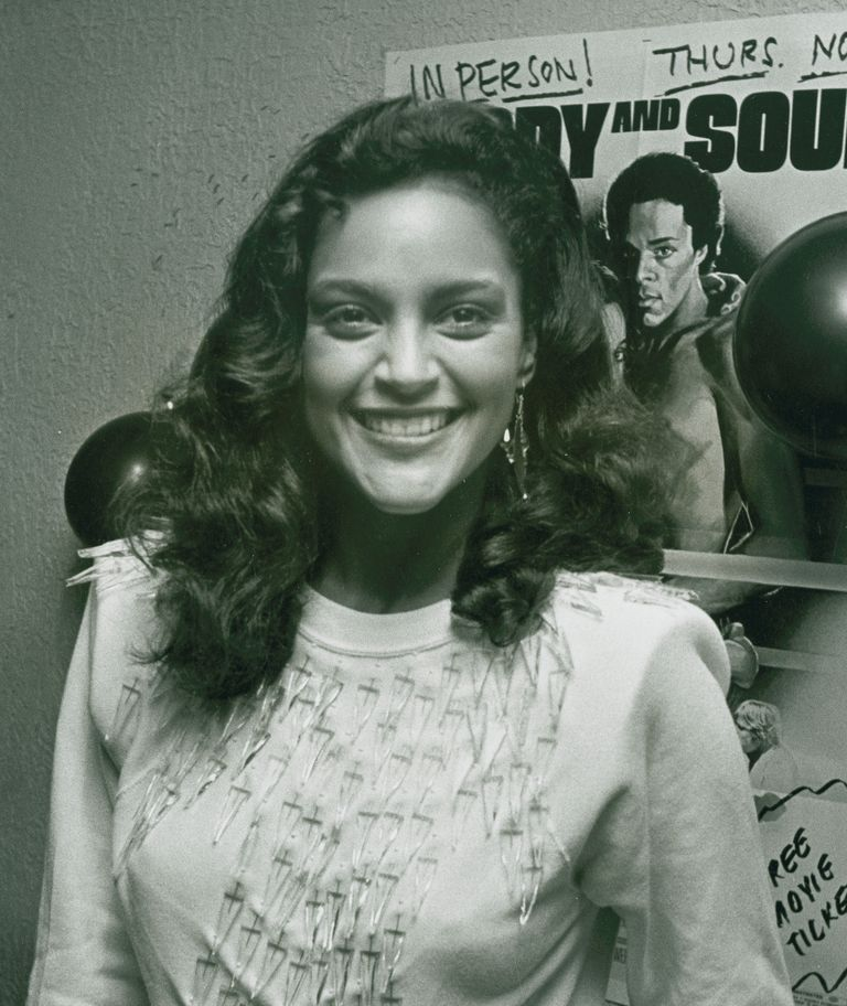 "Jayne Kennedy attends the opening party for ""Body and Soul"" on November 19, 1981 