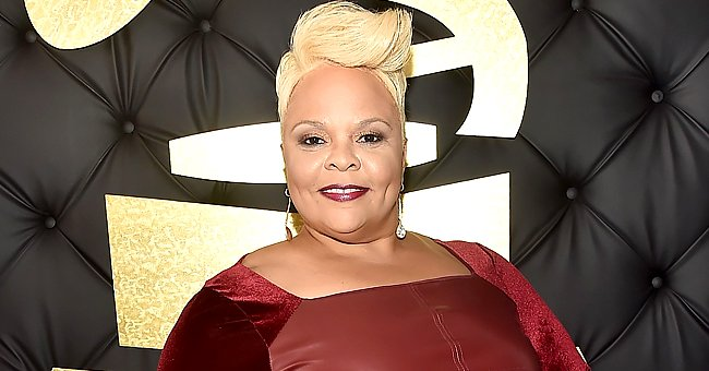 Watch Tamela Mann Flaunt Her Slimmer Figure Modeling in Skintight Pants and a Hoodie (Video)