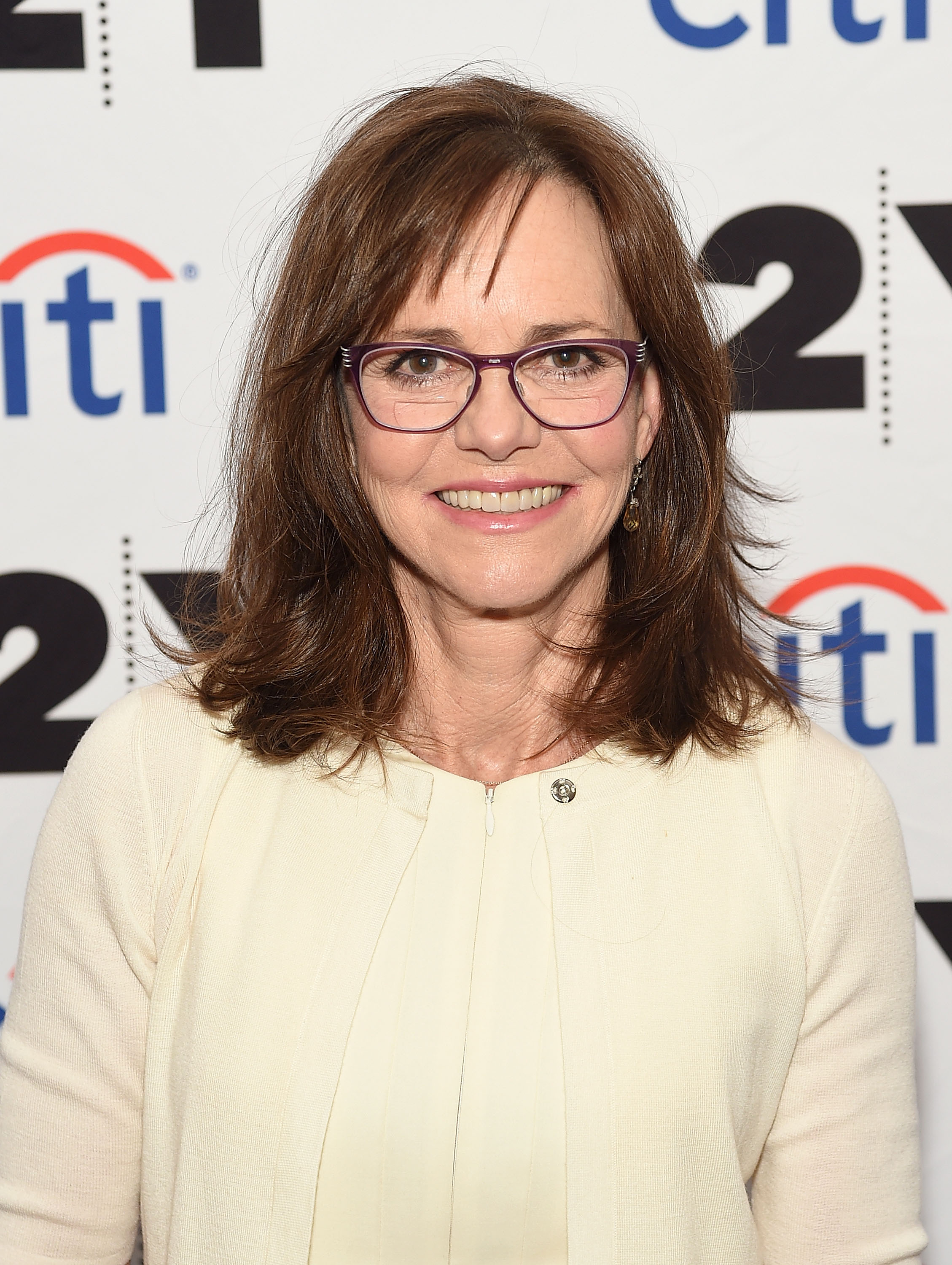 "Sally Field during ""Sally Field In Conversation With Cynthia McFadden"" at New York. 