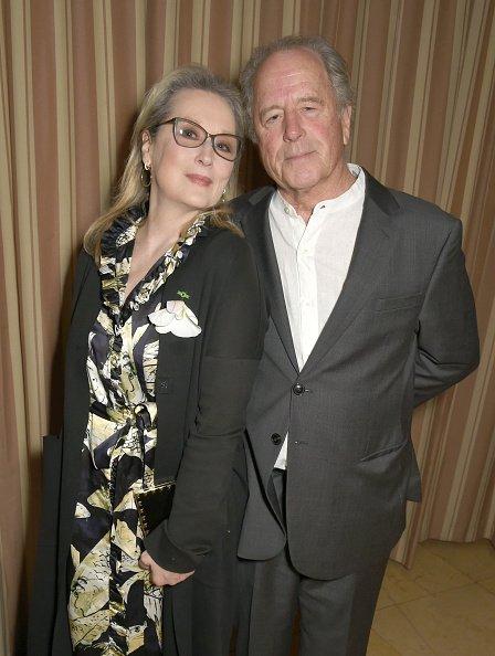 Meryl Streep et Don Gummer le 24 février 2017 à Los Angeles, Californie | Photo: Getty Images
