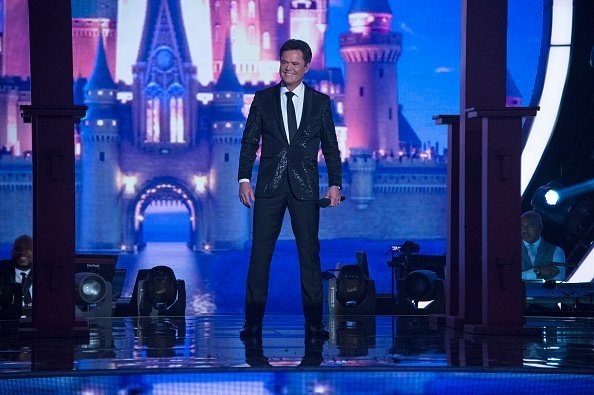 "Donny Osmond on set of ABC's ""Dancing With the Stars"": Season 24 