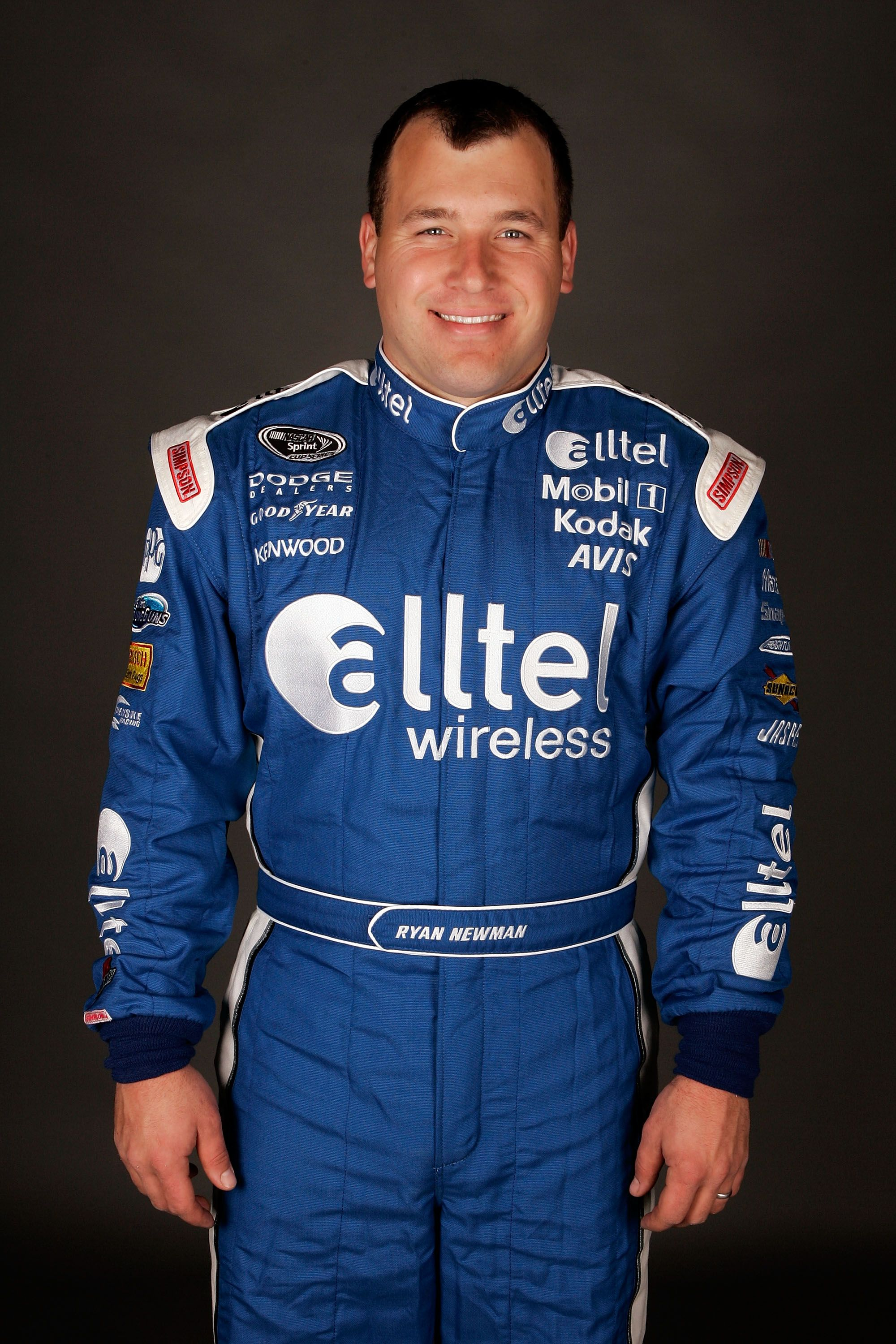 Ryan Newman poses for a photo during the NASCAR Sprint Cup Series media day at Daytona International Speedway on February 7, 2008 in Daytona, Florida. | Source: Getty Images