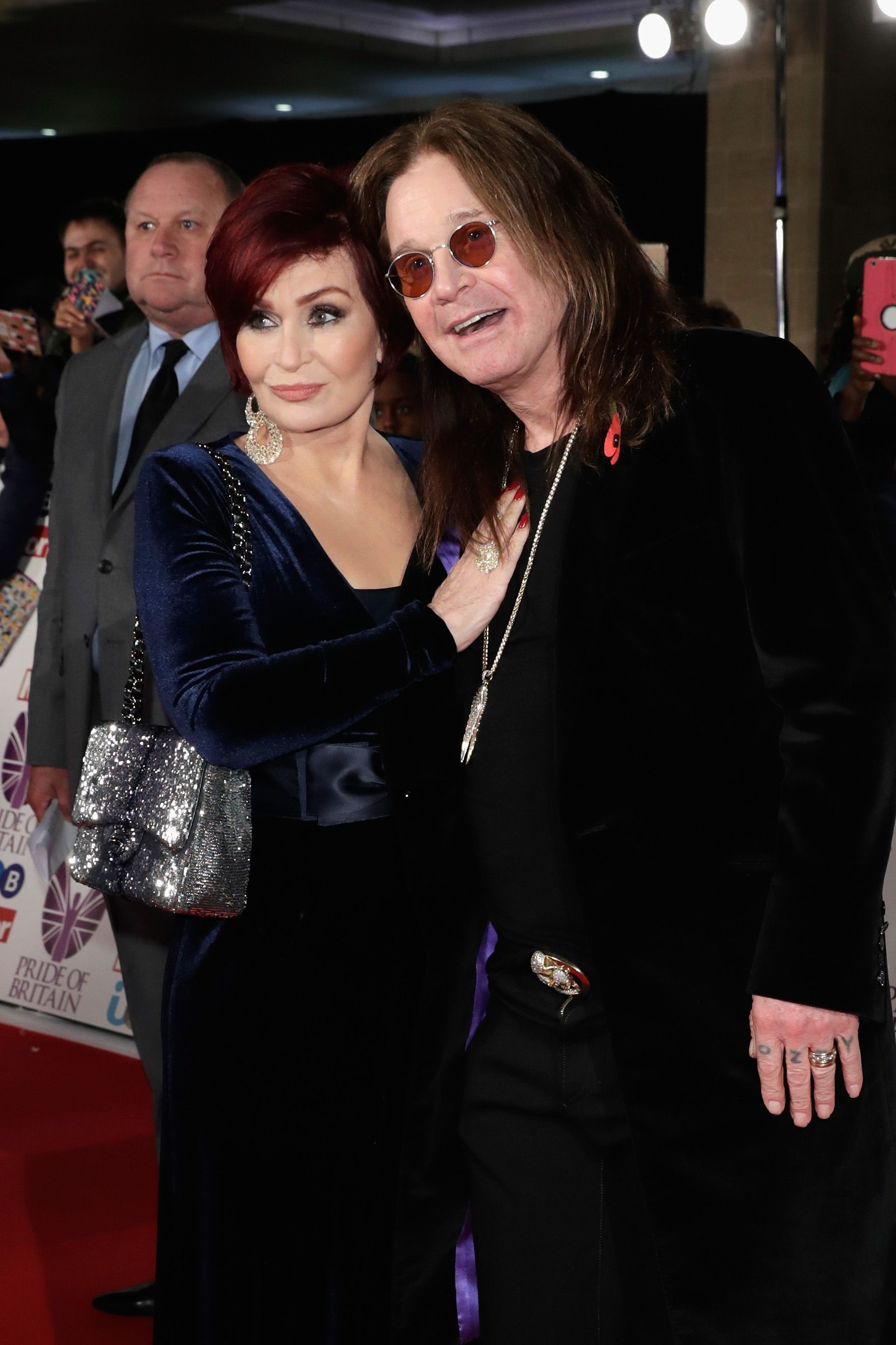 Sharon Osbourne and Ozzy Osbourne at the Pride Of Britain Awards at Grosvenor House in London, England   Photo: John Phillips/Getty Images