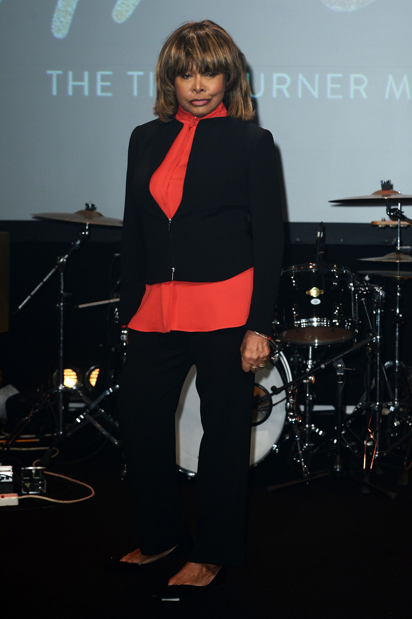 Tina Turner during the 'TINA: The Tina Turner Musical' photocall at Aldwych Theatre   Getty Images