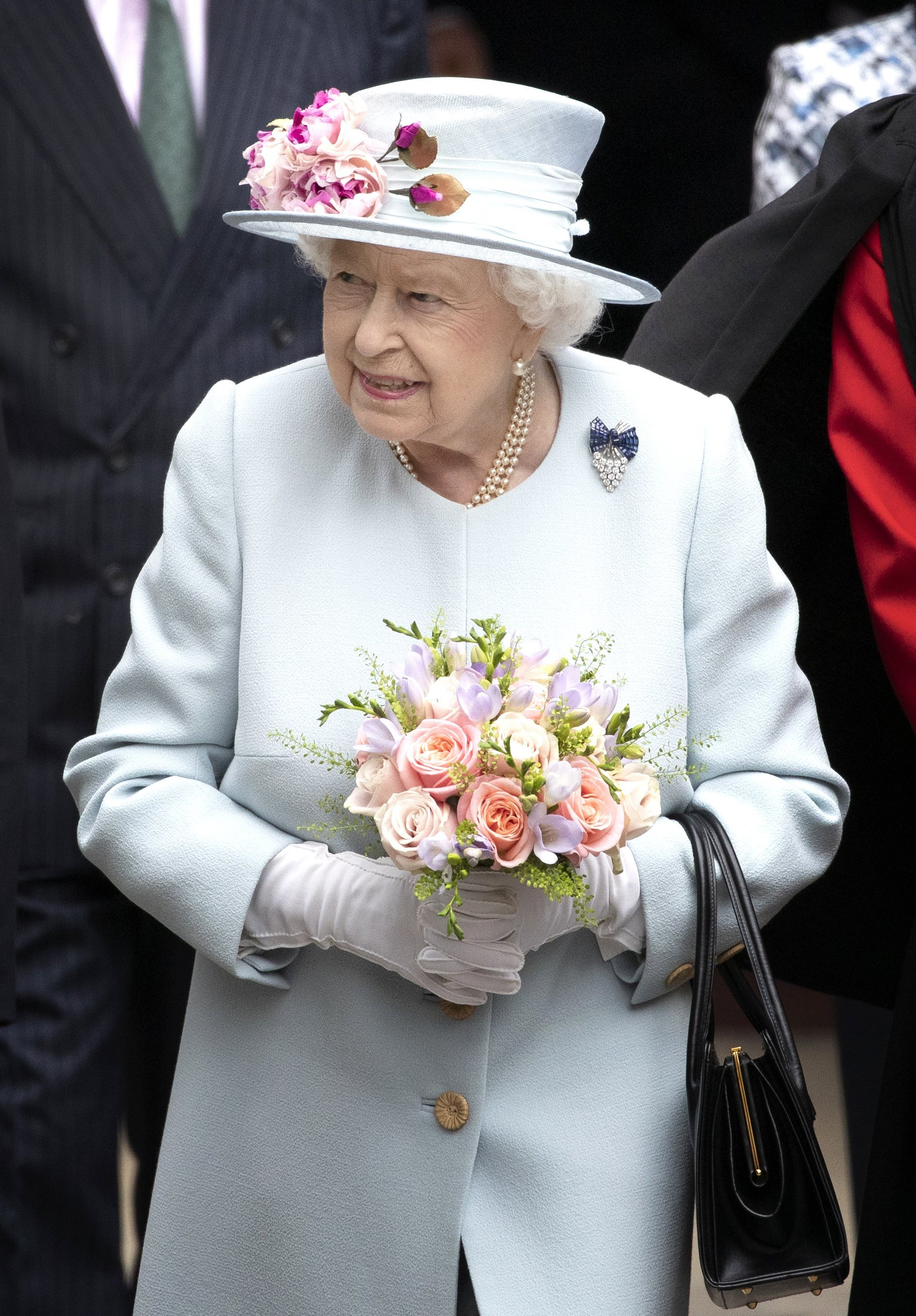 Queen Elizabeth II visits Canongate Kirk for church service in Edingburgh, Scotland on June 30, 2019 | Photo: Getty Images