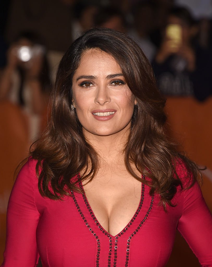 """Salma Hayek at the """"Septembers of Shirza"""" premiere in Toronto, September, 2015.   Photo: Getty Images."""