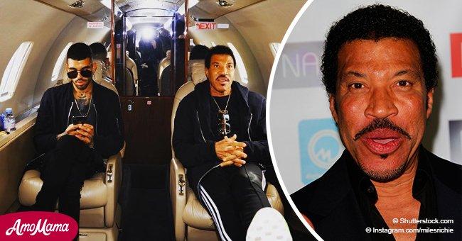 Der Sohn von Lionel Richie verhaftet, weil er drohte, eine Bombe an einem Flughafen zu zünden