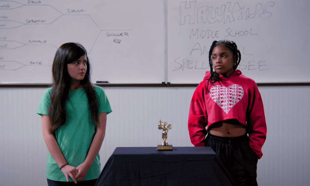 In the finals of the Spelling Bee   Source: YouTube/ Dhar Mann
