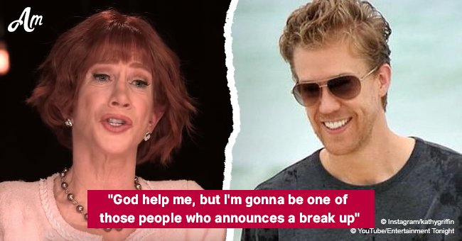 Kathy Griffin tweets about her split - 'now those jerks won't get the story first'
