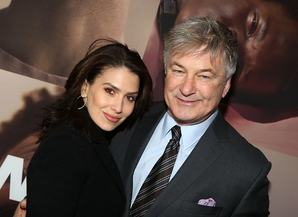 Hilaria Baldwin and husband Alec Baldwin at The Broadway Theatre on February 20, 2020 in New York City. | Photo: Getty Images