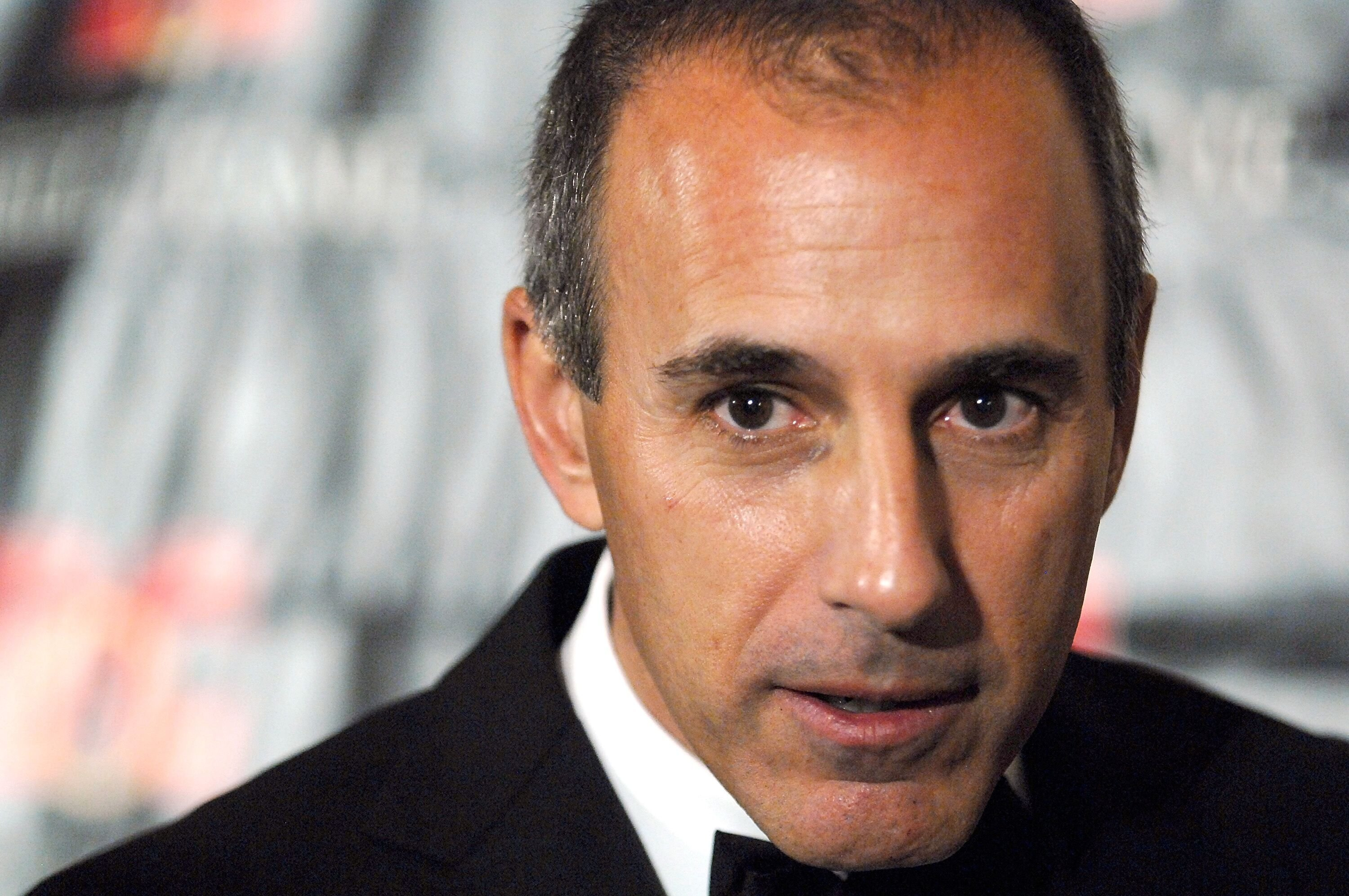 Matt Lauer at the 18th Annual Broadcasting & Cable Hall of Fame Awards on October 21, 2008, in New York City   Photo: Joe Corrigan/Getty Images