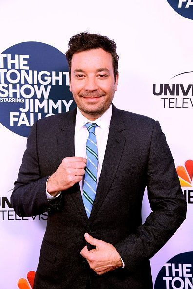 Jimmy Fallon at The WGA Theater on May 03, 2019 in Beverly Hills, California. | Photo: Getty Images