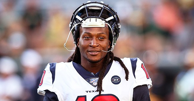 DeAndre Hopkins Hands Touchdown Ball from Texans vs Colts Game to Mom Sabrina Greenlee Who Was Blinded in Acid Attack