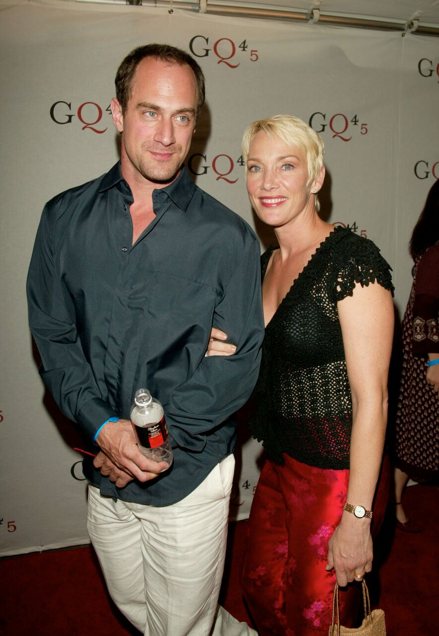 Chris Meloni with wife Sherman Williams arriving at GQ's Forty-Fifth Anniversary. | Source: Getty Images