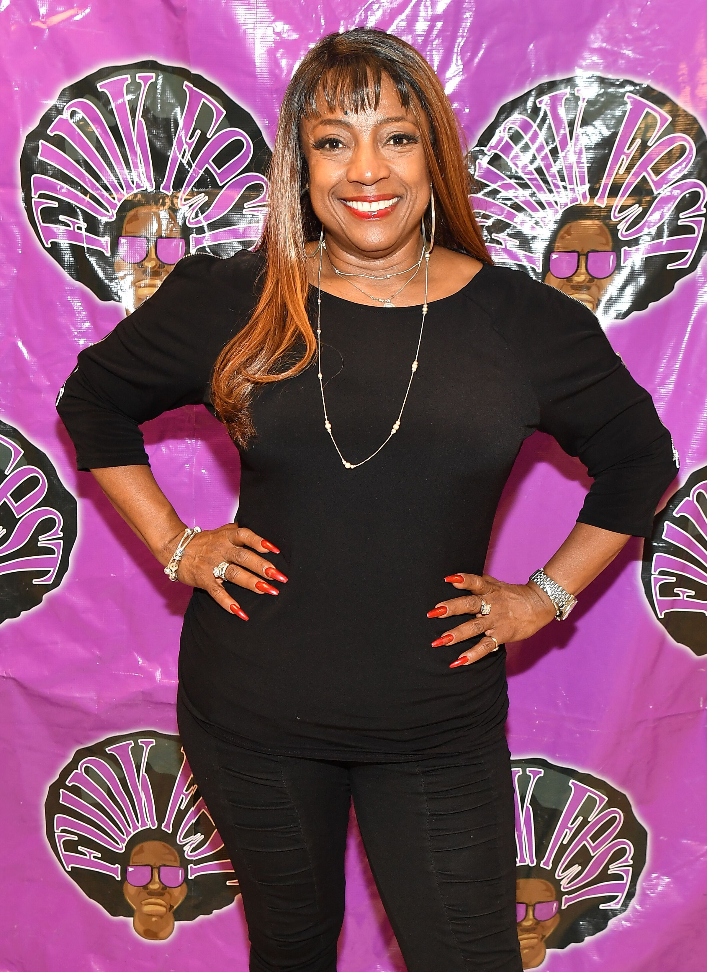 BernNadette Stanis at the 2018 Funk Fest Tour at Wolf Creek Amphitheater on May 19, 2018. | Source: Getty Images