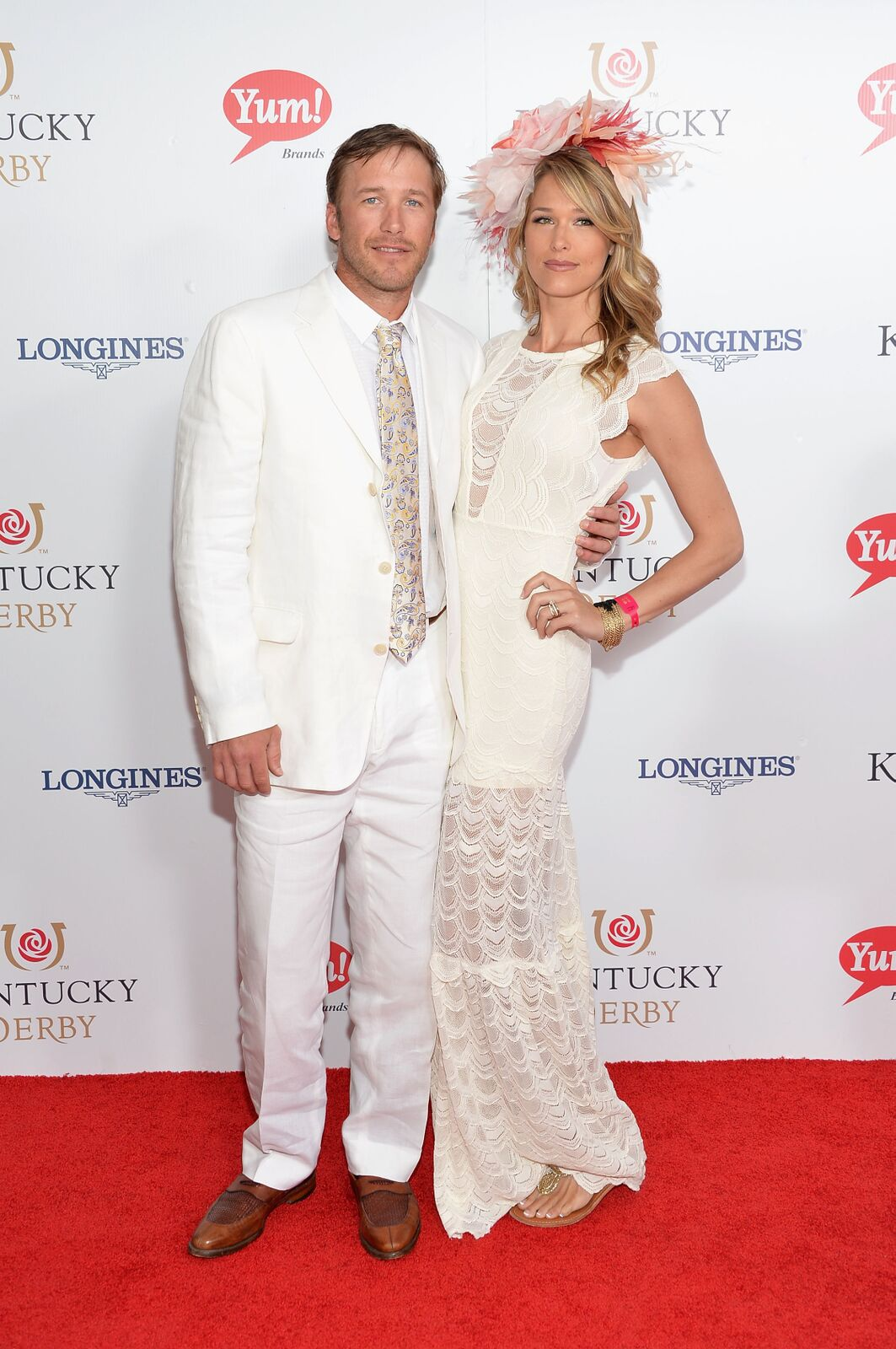Bode Miller (L) and Morgan Miller attend 140th Kentucky Derby at Churchill Downs on May 3, 2014 in Louisville, Kentucky | Photo: Getty Images