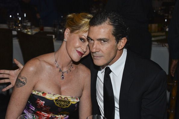 Melanie Griffith and actor Antonio Banderas at the Children's Hospital Los Angeles Gala in 2012 in Los Angeles, California   Source: Getty Images