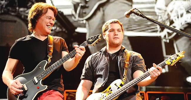 Eddie Van Halen's Son Wolf Says His Late Father Wanted Him to Carve Out His Own Career in Music