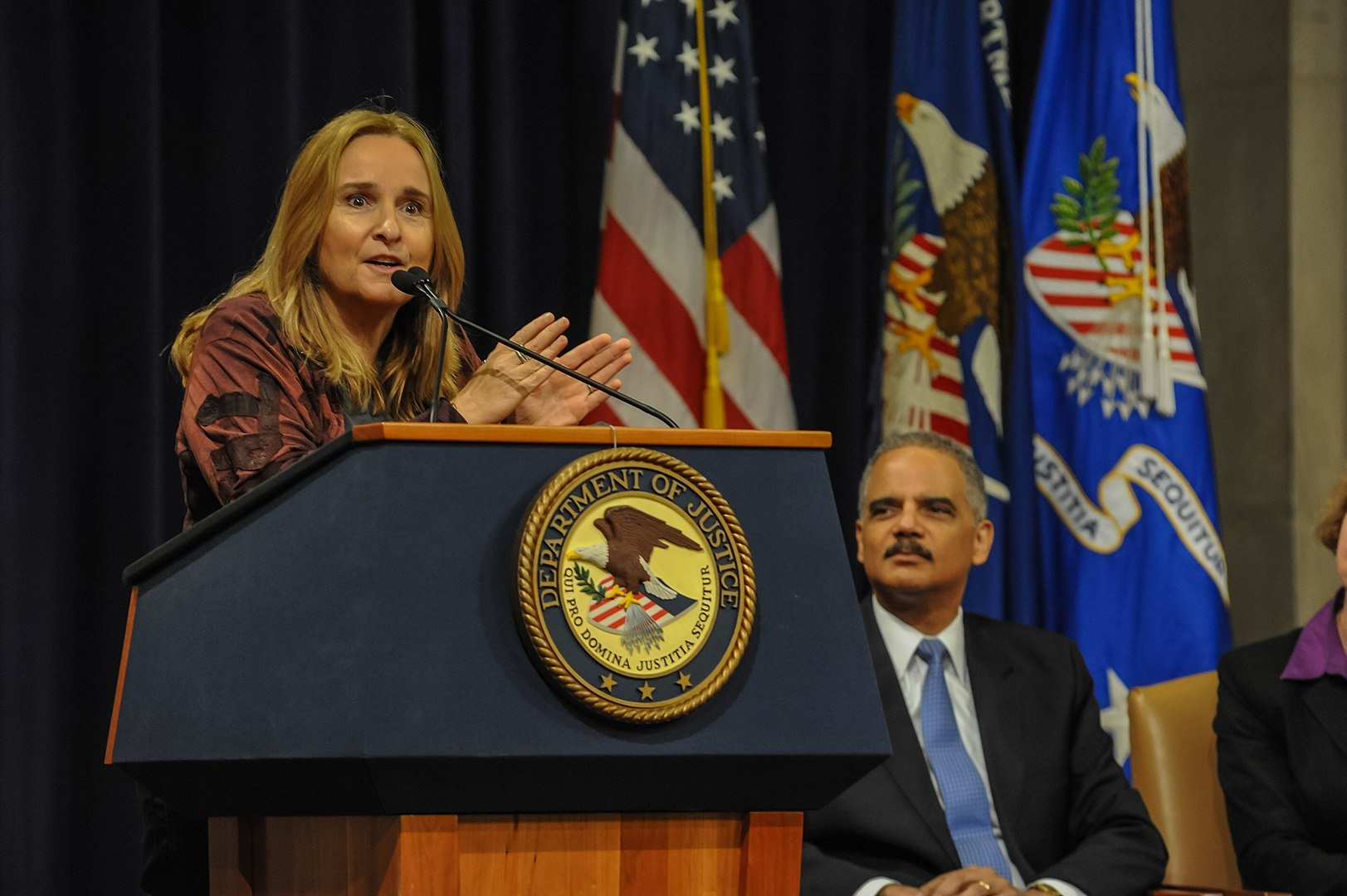 Melissa Etheridge shared her personal experiences of advocating for the LGBT community at a United States Department of Justice Event, June, 2013 | Photo: GettyImages