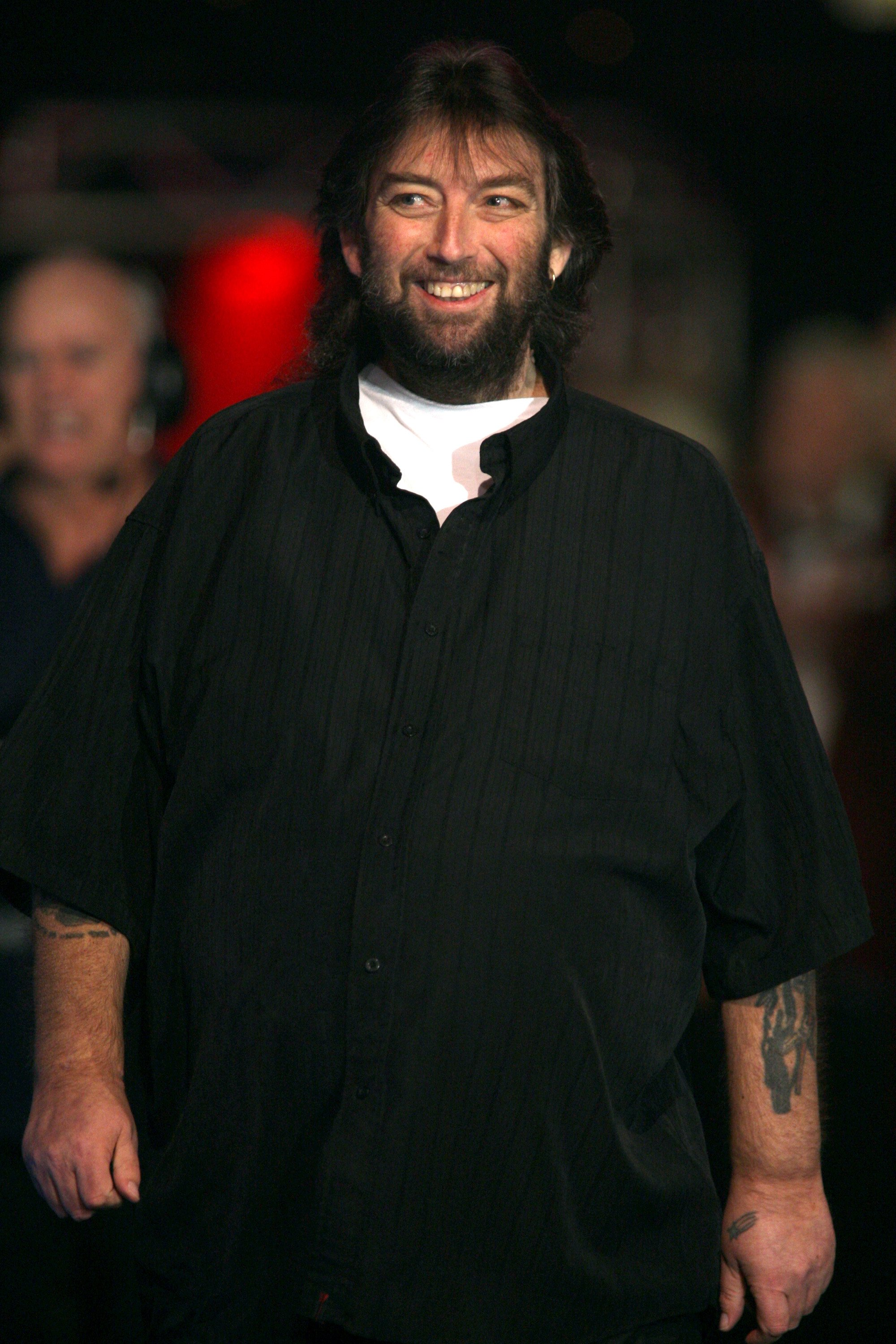 Andy Fordham at the  Lakeside World Professional Darts Championship 2008   Source: Getty Images