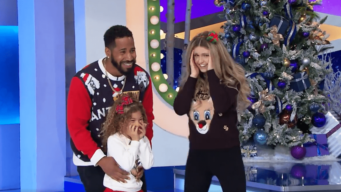 Cleavant, Michelle, and their daughter Nevy, who struck big during the Triple Play. | Photo: Facebook/The Price is Right