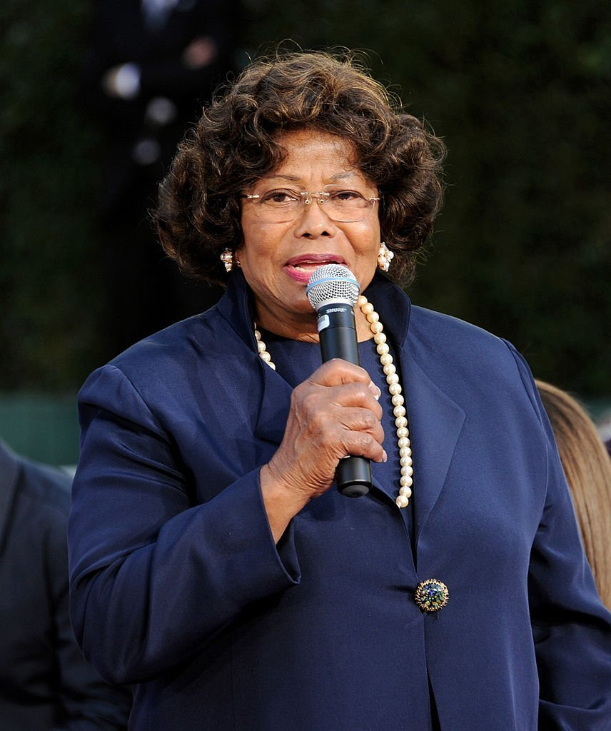 Katherine Jackson erscheint am 26. Januar 2012 bei der Michael Jackson Hand and Footprint Zeremonie im Grauman's Chinese Theatre Quelle: Getty Images