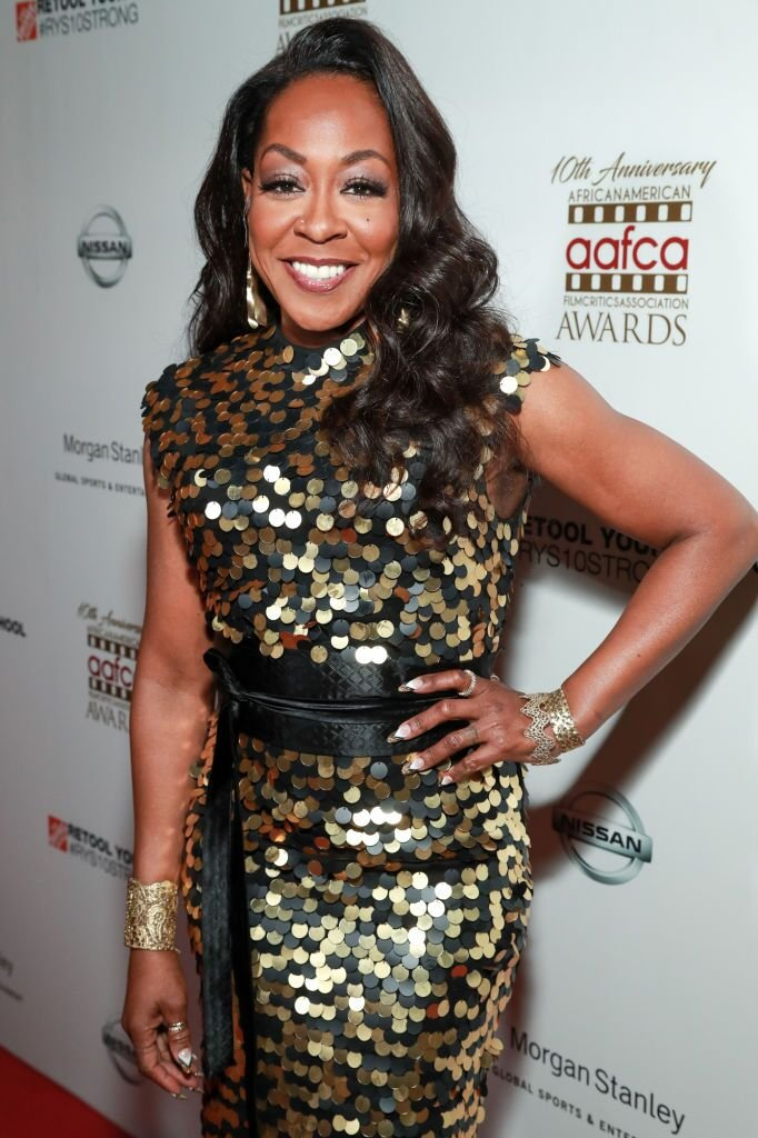 Tichina Arnold attends the 10th Annual AAFCA Awards. | Source: Getty Images