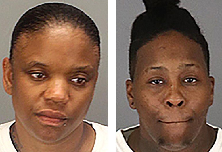Candace Tai Townsel (Left) and Kimesha Monae Williams have been charged for the murder of 84-year-old Afaf Anis Assad | Riverside County Sheriff's Department