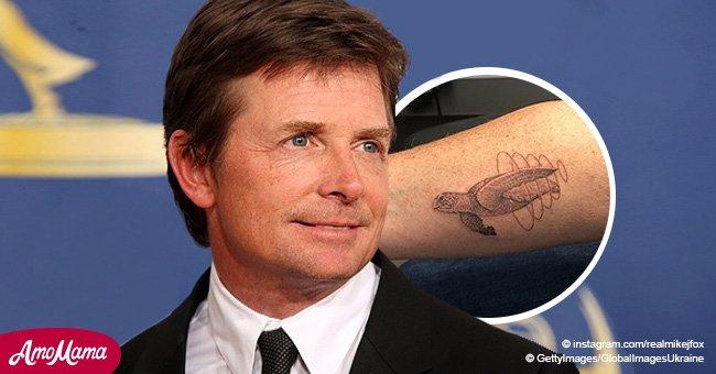 Michael J Fox se fait tatouer pour la première fois de sa vie, et voici la fameuse raison derrière tout ça