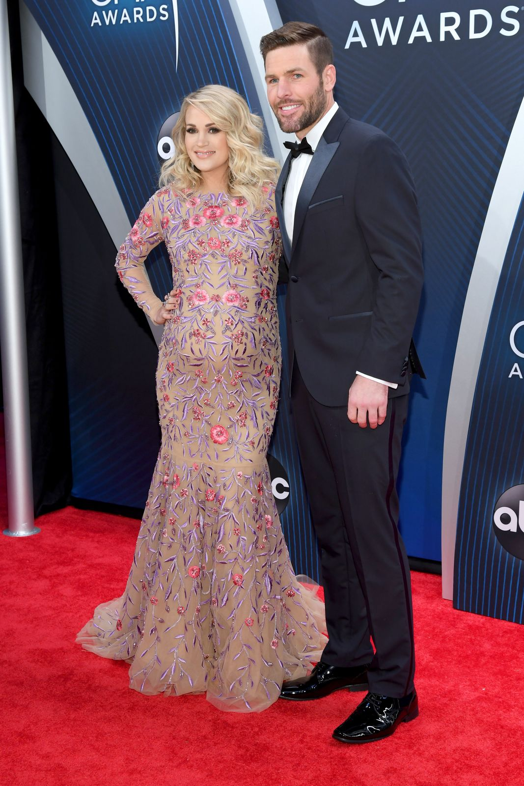 Carrie Underwood and Mike Fisher at the 52nd annual CMA Awards on November 14, 2018, in Nashville, Tennessee | Photo: Jason Kempin/Getty Images