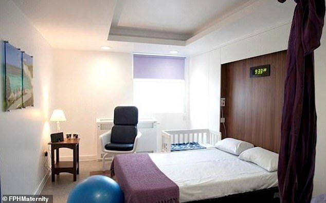 Frimley Park Hospital Maternity Room | Photo: Daily Mail